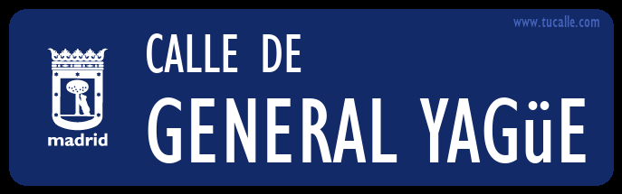 cartel_de_calle-de-General Yagüe_en_madrid
