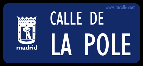 cartel_de_calle-de-la Pole_en_madrid