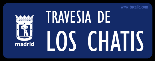 cartel_de_travesia-de-Los chatis_en_madrid
